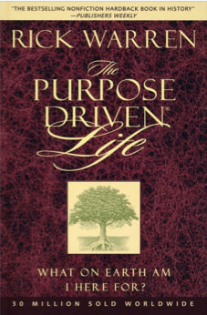 Purpose Driven Life Original Book
